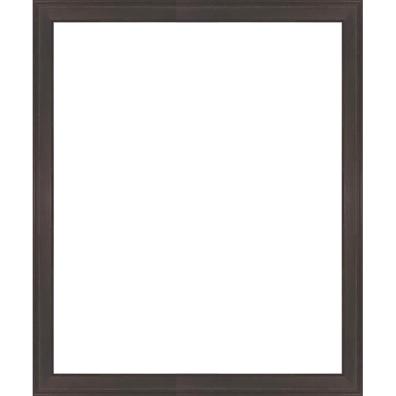 cadre en bois plat marron avec verre et dos sur cadres et. Black Bedroom Furniture Sets. Home Design Ideas