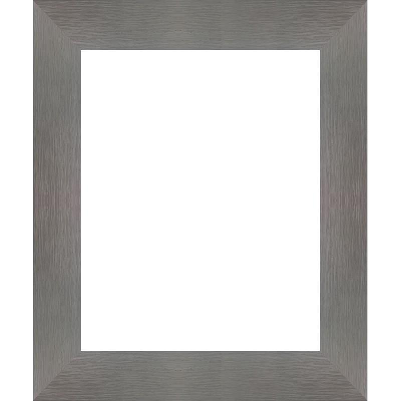 encadrement bois plat stri gris tableau en vente sur cadres et. Black Bedroom Furniture Sets. Home Design Ideas