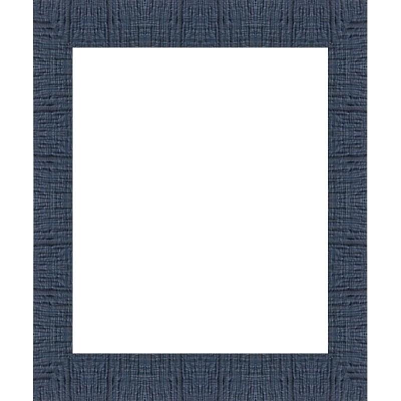 encadrement bleu marine striee vos mesures sur cadres et. Black Bedroom Furniture Sets. Home Design Ideas