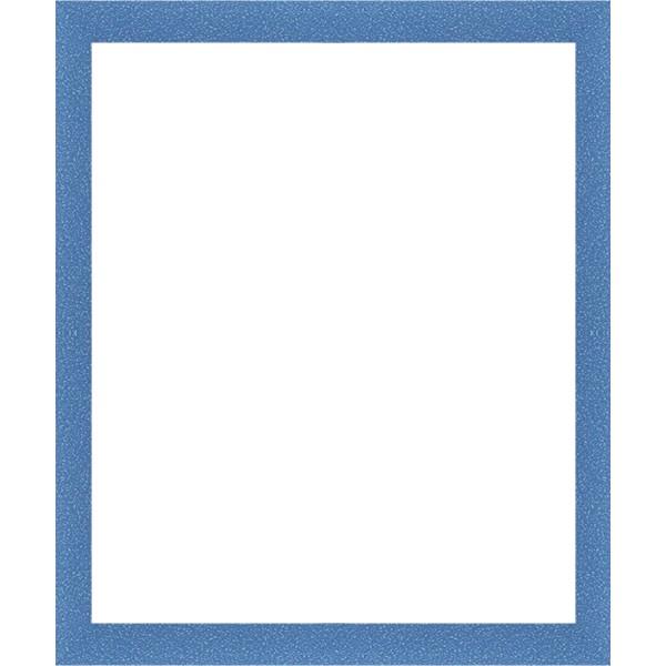 cadre et encadrement bleu avec verre et dos sur cadres et. Black Bedroom Furniture Sets. Home Design Ideas