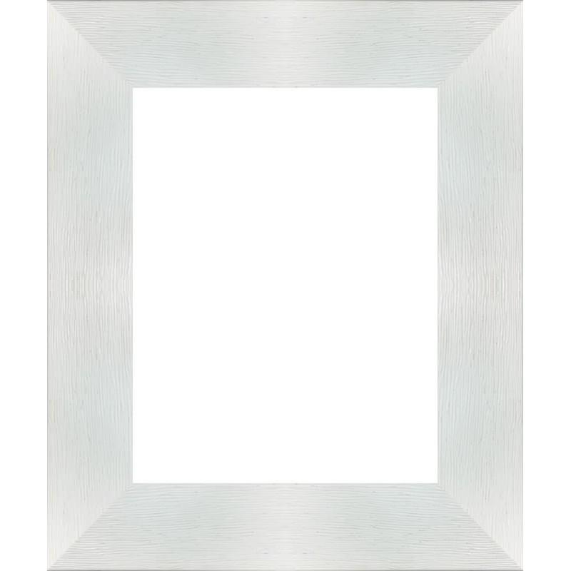 encadrement bois plat stri blanc encadrement blanc de 7 1 cm. Black Bedroom Furniture Sets. Home Design Ideas