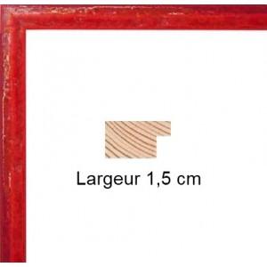 encadrement bois c ramique rouge avec verre et dos sur cadre et encadrement. Black Bedroom Furniture Sets. Home Design Ideas
