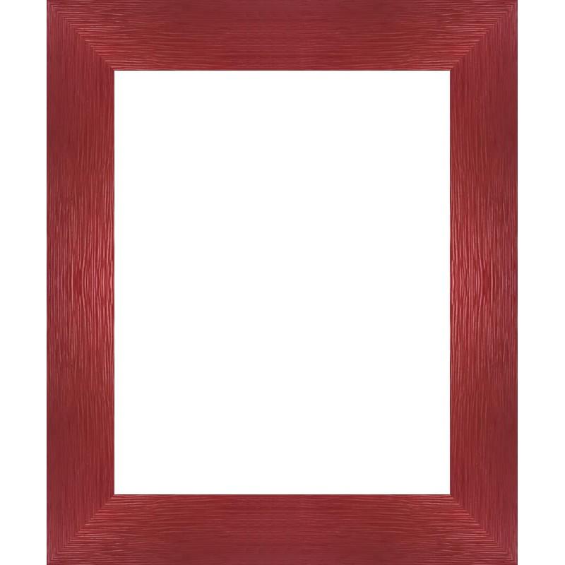 encadrement bois plat stri rouge avec verre et dos sur cadre et encadrement. Black Bedroom Furniture Sets. Home Design Ideas