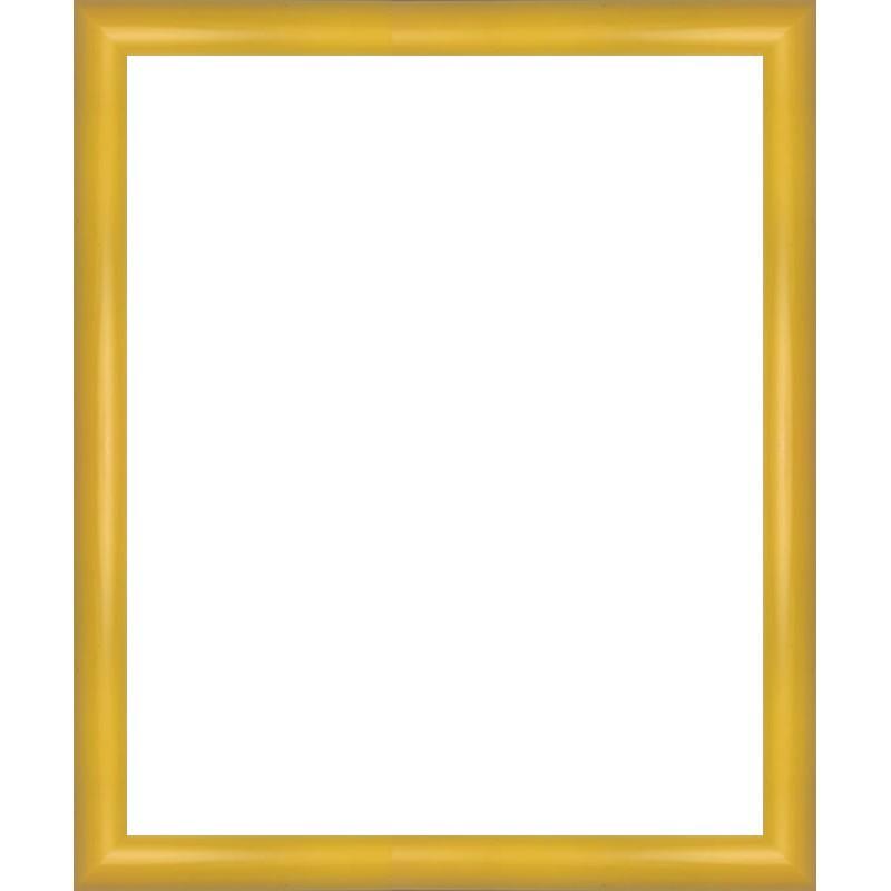 encadrement arrondi jaune sur mesure avec verre et dos sur cadres et. Black Bedroom Furniture Sets. Home Design Ideas