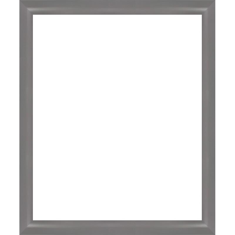 encadrement bois arrondi gris avec verre et dos sur cadres et. Black Bedroom Furniture Sets. Home Design Ideas