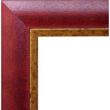 encadrement bois bordeaux bord dor sur cadres et. Black Bedroom Furniture Sets. Home Design Ideas