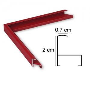 Cadre Aluminium Rouge