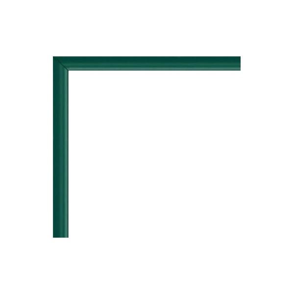 cadre aluminium vert sur mesure avec plexiglas et dos sur cadres et. Black Bedroom Furniture Sets. Home Design Ideas