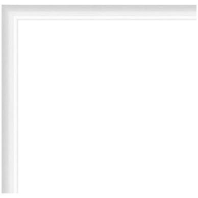 cadre aluminium blanc sur mesure avec plexiglas et dos sur cadre et encadrement. Black Bedroom Furniture Sets. Home Design Ideas