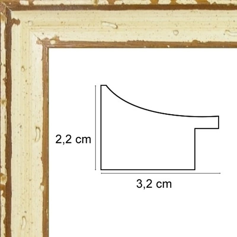 cadre bois naturel filet marron tout format sur cadres et. Black Bedroom Furniture Sets. Home Design Ideas