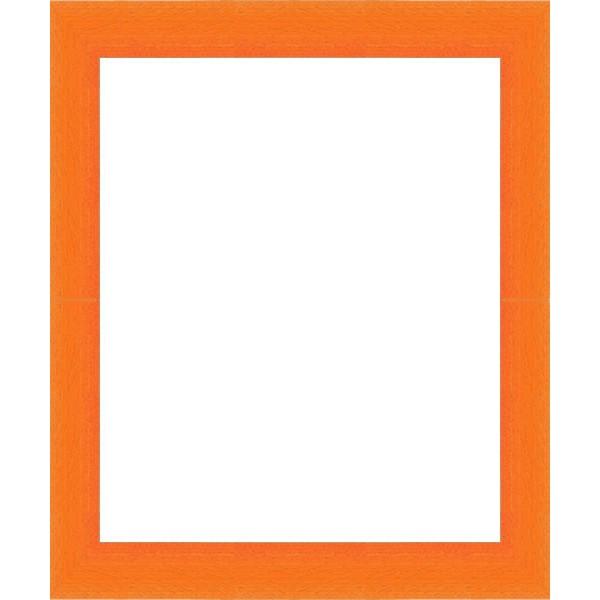 cadres arrondi orange encadrement orange sur mesure en. Black Bedroom Furniture Sets. Home Design Ideas