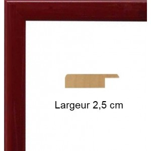 Plat Laqué Bordeaux
