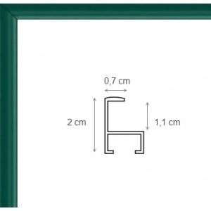 Cadre Aluminium Vert
