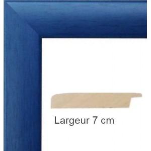 Cadre Satin Bleu Electrique