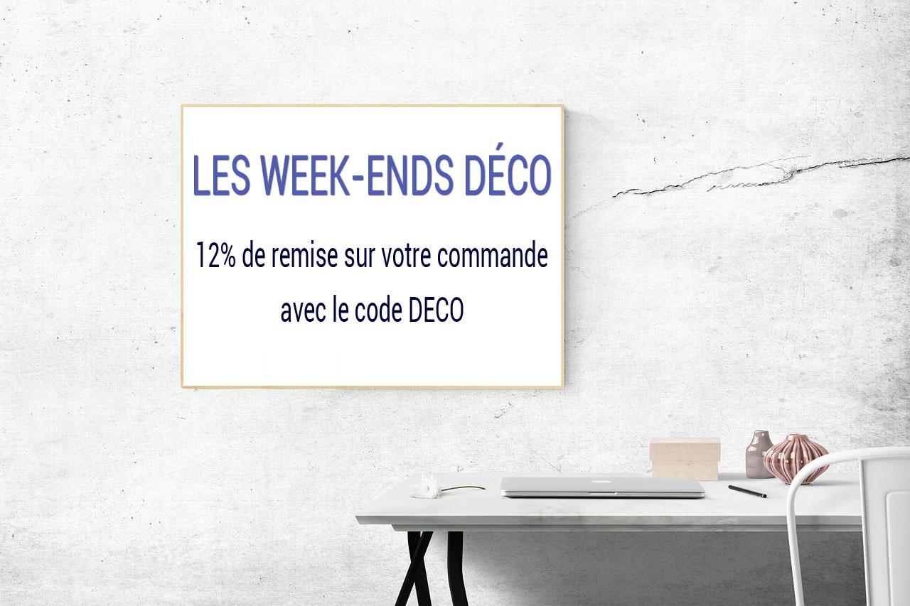 12% de remise pour les week-ends Déco