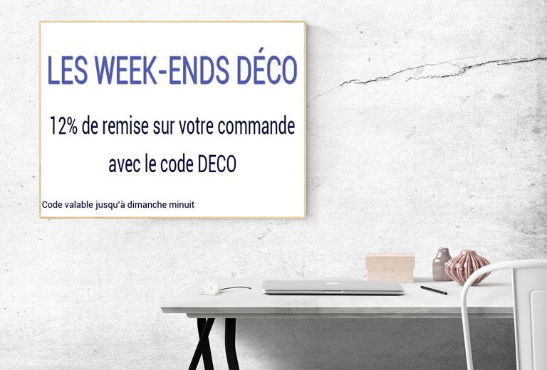 Promotion du week ends sur Cadres et Encadrements